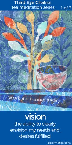 7 Days 7 Chakras Tea Meditation Series #chakras #thirdeyechakra #chakrahealing #chakrateameditations #7days7chakras