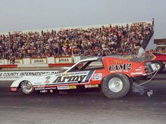 Don Prudhomme's Army Funny Car at OCIR