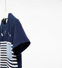 Imagem 4 de T-shirt riscas da Zara