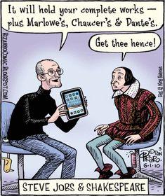 Steve Jobs & Shakespeare