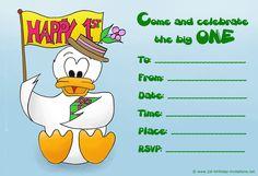 Happy Birthday Invites