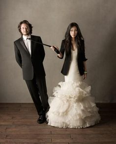 for a fall wedding try a PARTY DRESS WITH TUX JACKET! EVEN IF YOU ARE THE BRIDE! :)