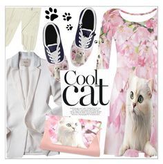 """""""Cool cat!"""" by teoecar ❤ liked on Polyvore featuring Forzieri and beoriginal"""