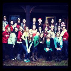 Secret Sister, sisterhood event at the camp!
