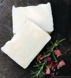 Wash Your Hair With Homemade Shampoo Bars - Photo by Jan Berry (HobbyFarms.com)