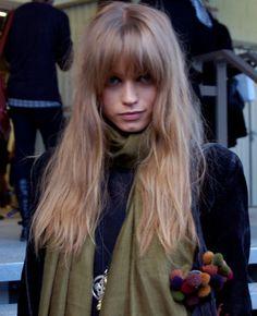 Strange Fringes Blonde Hair And Blondes On Pinterest Short Hairstyles Gunalazisus