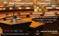 Oh Law Firm >> 28 Best Advocate Jaspreet Singh Bhullar Images Criminal