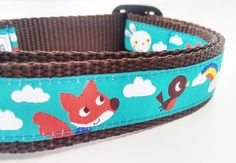 Friendly Skies  Dog Collar / Handmade / by StinkyandSweetPea