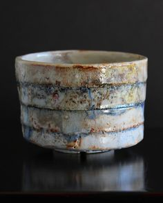 Shino Bowl Tulrahan ( Ceramic Stoneware Pottery )