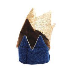 Mini Toy Crown Set (Caramel, Tartan, Gold)_stack