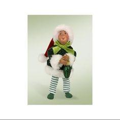 18cm Kindles  Gherkin with German Pickle  Poseable Elf Christmas Figure. Free Sh