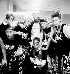 Block B , Taeil , Kyung, Jaehyo, B Bomb , P.O , Woo Jiho / Zico , Yukwon