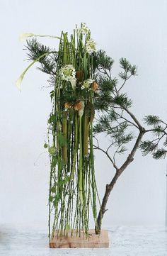 Artist and designer Jade Hwang, designer at Floart florist academy, Korea