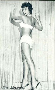 Rita Moreno (born December is a Puerto Rican singer, dancer and actress. Old Hollywood Stars, Old Hollywood Glamour, Classic Hollywood, Vintage Hollywood, Rita Moreno, Hollaback Girl, Retro Lingerie, Famous Women, Actress Photos