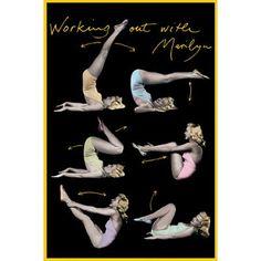 Yoga With Marilyn Monroe