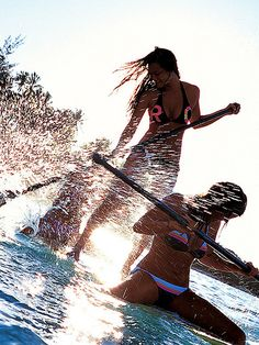 Not wanting to surf .Try Paddle Boarding. Surf Girls, Beach Girls, Beach Bum, Summer Beach, Summer Vibes, Summer Of Love, Summer Fun, Sup Stand Up Paddle, Sup Yoga