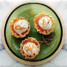 Blood Orange and White Chocolate Cream Cups | CookingLight.com #myplate #fruit #dairy