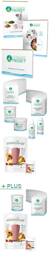 Beachbody Ultimate Reset Challenge Pack  www.getfitleague.com