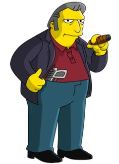 The Simpsons│ Los Simpson - - - - - - Homer Simpson, Lisa Simpson, Simpsons Characters, Simpsons Art, Seymour Skinner, Los Simsons, Charles Montgomery, Comic Book Guy, Ralph Wiggum