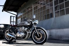 Ton Up: CB 750 by Ireful Motorcycles | Garagem Cafe Racer