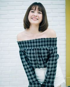 Princess Hours Thailand, Holy Chic, Cute Korean, Beautiful Actresses, Girl Crushes, Off Shoulder Blouse, Cute Girls, Asian Girl, Girl Fashion