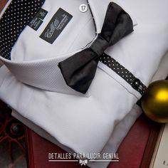 Camisa formal Colleti  Corbatin Poliester