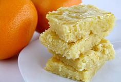 Glazed Orange Cookie Bars