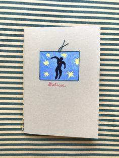 quaderno illustrato e rilegato a mano *matisse* : Quadernetti, agende di petilab