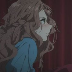 Kawaii Anime Girl, Anime Art Girl, Manga Girl, Dandere Anime, Anime Shop, Violet Evergarden Anime, Cartoon Profile Pictures, Profile Pics, Estilo Anime