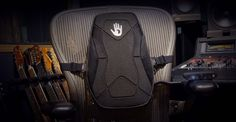 Be the bass! Yanko Design, Designer Backpacks, Bass, Car Seats, Audio, Lowes, Double Bass