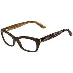 292a40b913 Jimmy Choo 82 Eyeglasses in Brown   Pan Transparent Ude Color. Toni   Guy  Opticians