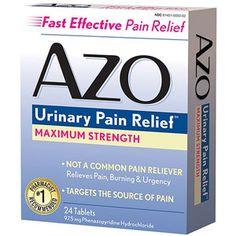 Azo Maximum Strength Urinary Pain Reliever, 97.5mg
