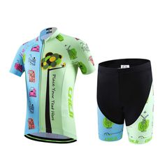 Children Bicycle Jersey Set Pure and Fresh Kids Clothing Short Sleeve MTB Bike Ropa for Boys and Girls 2017 Summer Breathable. Yesterday's price: US $36.00 (29.43 EUR). Today's price: US $33.12 (27.06 EUR). Discount: 8%.