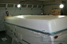 Inside Our Tent Trailer Camping Pinterest Tent Trailers