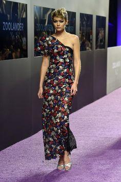 Gigi Hadid wearing Marc Jacobs Spring 2016