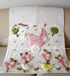 Polar kız bebek battaniyesi  Baharca tasarım  handmade