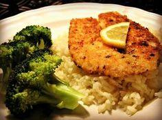 Parmesan-Red Pepper Fish Recipe