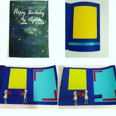 Inbox to Order! Interactive Card - Galaxy