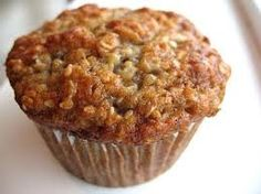Banana Oatmeal Muffin - These are the BEST banana muffins! Didn't use Bits, added ground flax and hemp seeds. Banana Oatmeal Muffins, Banana Oats, Banana Breakfast Muffins, Ww Recipes, Muffin Recipes, Cooking Recipes, Recipies, Biggest Loser Recipes, Biggest Loser Diet