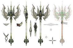 Final Fantasy Weapons, Final Fantasy Logo, Fantasy Art, Realm Reborn, Sword Design, Anime Weapons, Weapon Concept Art, Cosplay, Game Art
