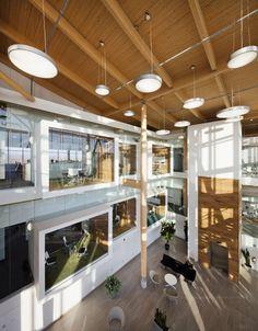 Administrative Building of Glaxo Smith Kline / Co Architecture #pin_it @mundodascasas