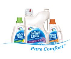I just saved $2.00 on NEW White Cloud Laundry Detergent with 3-in-1 Micro-Clean technology. Print your #coupon now