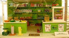 miniature pet store diorama
