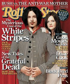 Rolling Stone Magazine Covers | White Stripes Rolling Stone cover