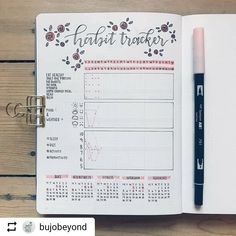 """2,287 Likes, 9 Comments - Bullet Journal features (@bujobeauties) on Instagram: """"By @bujobeyond  Tag your photos with #bujobeauty for a chance to be featured  ・・・ My February…"""""""