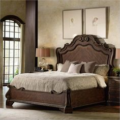 Hooker Furniture Adagio Panel Bed - 5091-902XX