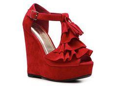 Bamboo Energy-17 Wedge Sandal Dress Sandals Sandal Shop Women's Shoes - DSW