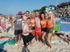 Mamy powodzenie na plaży:)
