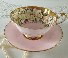 RESERVED/SOLD DF Stunning Rose Paragon China by TheEclecticAvenue