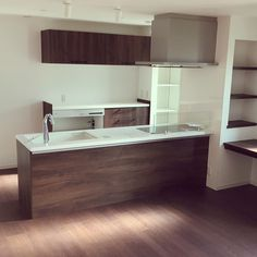 Kitchen Interior, Kitchen Storage, Double Vanity, Bathroom Lighting, Kaori, Bathtub, Dining, House, Furniture